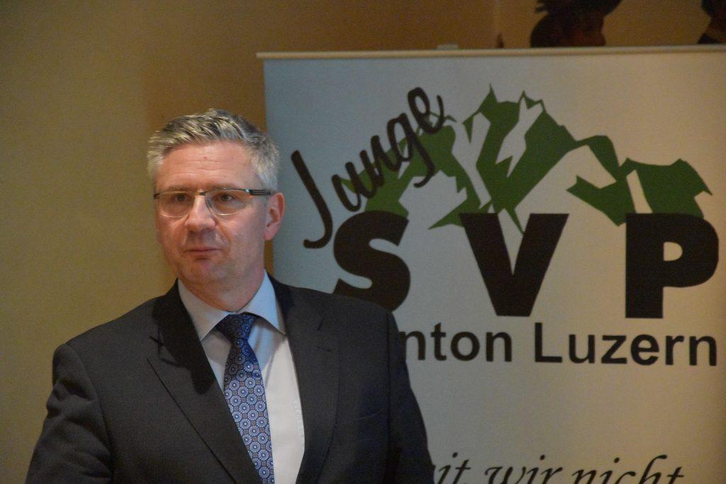 Politik am Dritten März – Andreas Glarner zu Besuch