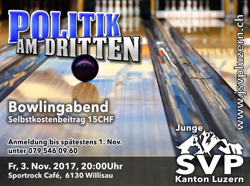Politik am Dritten – Bowlingabend