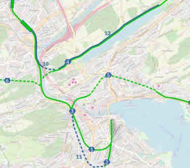 JSVP  unterstützt die Pläne für ein Bahndreieck Nord